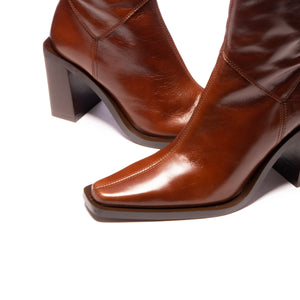 Grant Chestnut Leather