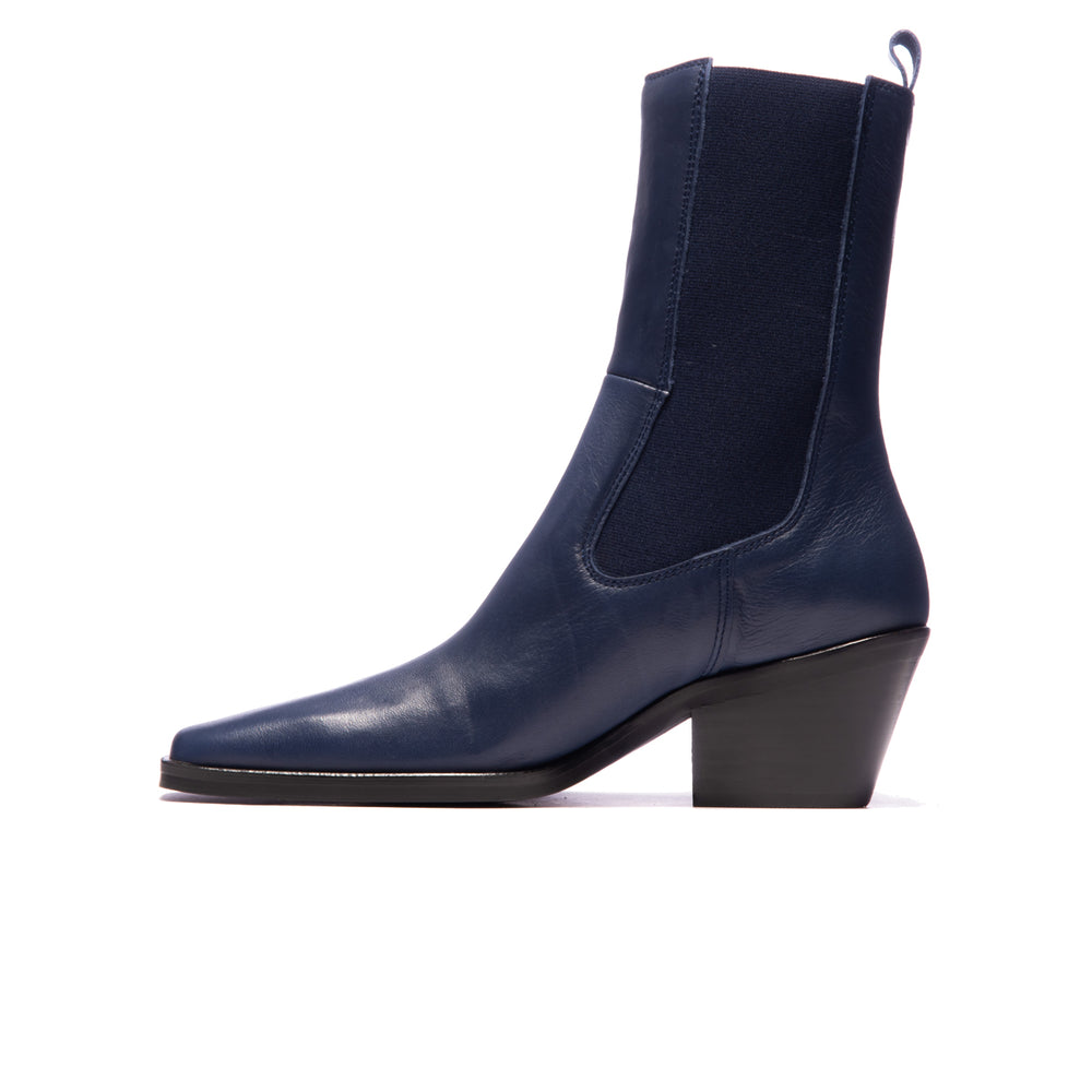 Alacantra Navy Leather
