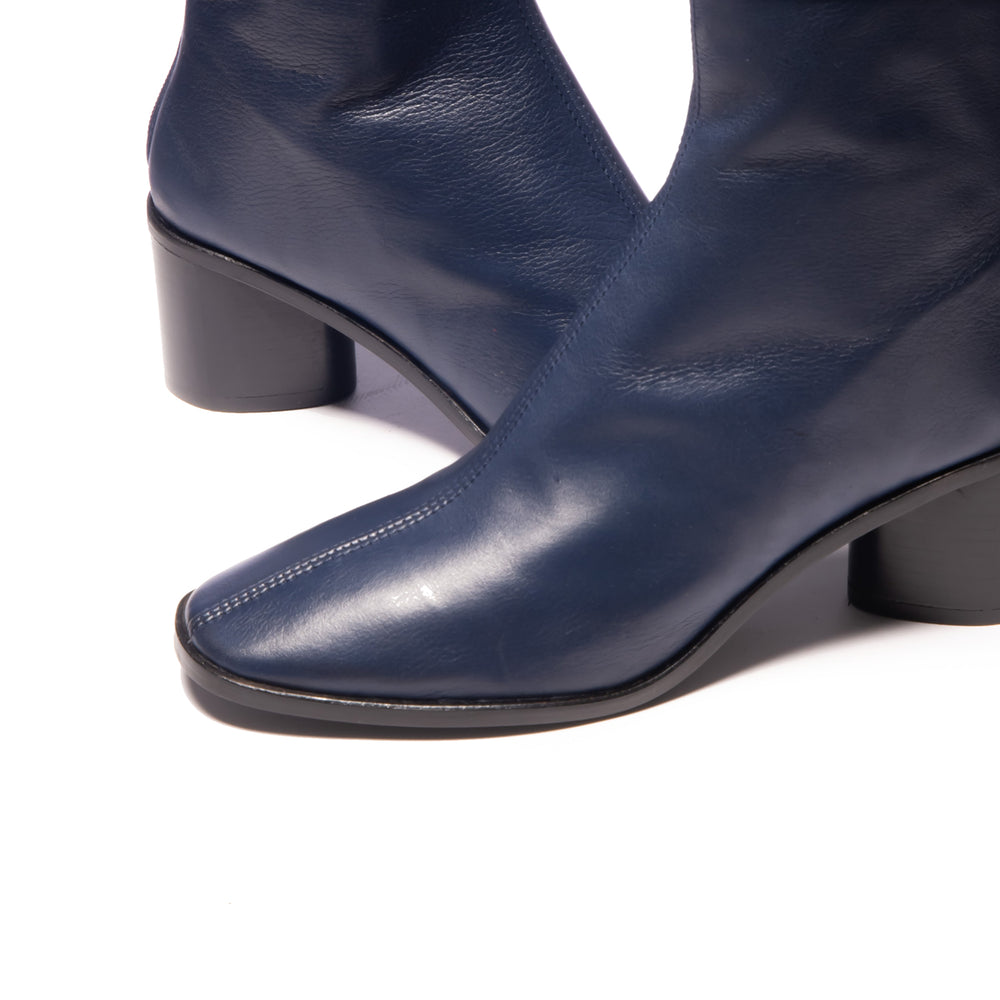 Rossio Navy Leather