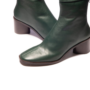 Rossio Green Leather