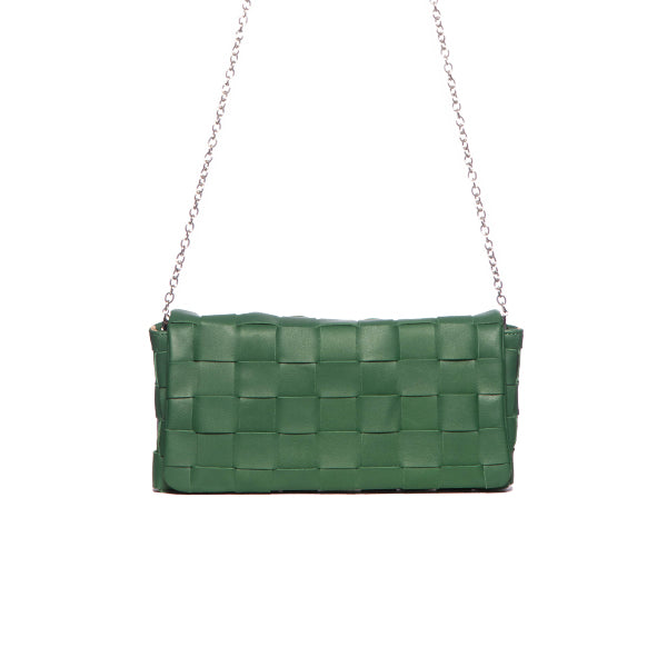 Lisette Green Leather