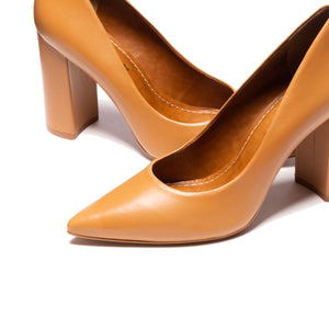 Ciara Camel Leather