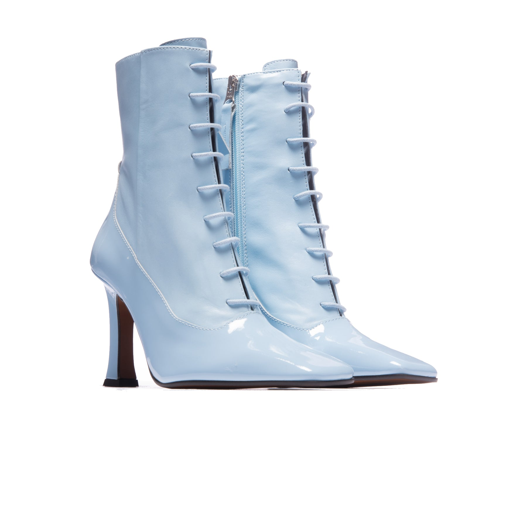 Adelaine Blue Patent Leather