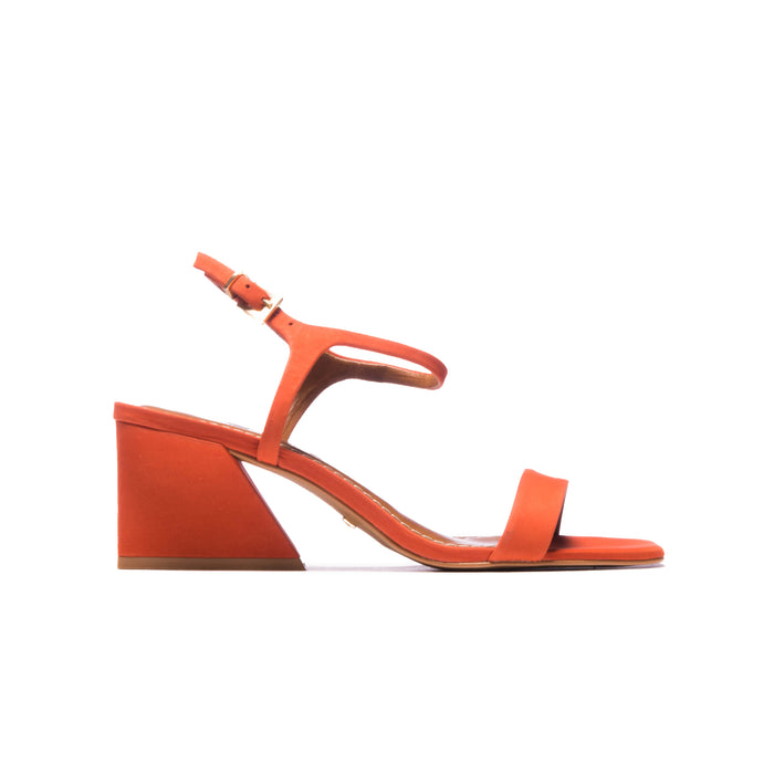 Ignacia Orange Nubuck