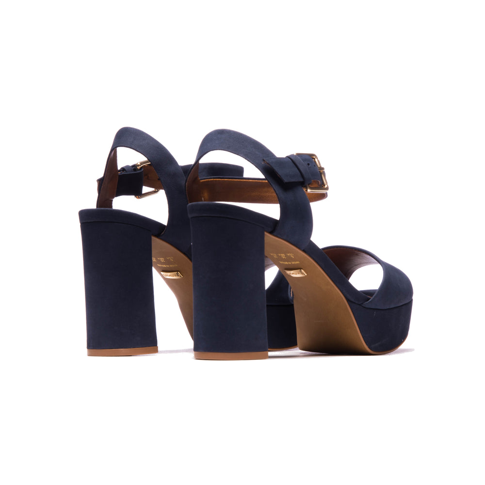 Load image into Gallery viewer, Lelia Navy Nubuck