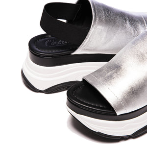 Cai Silver Leather