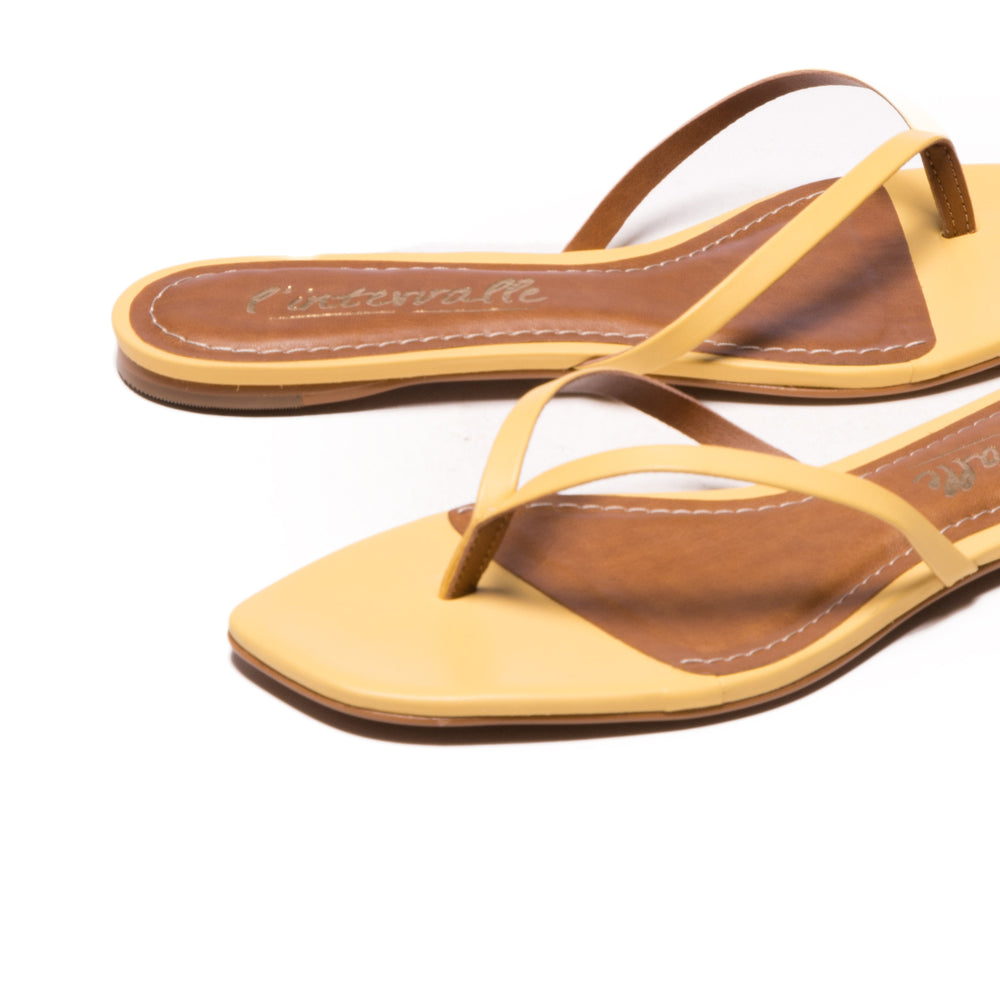 Lilo Yellow Leather