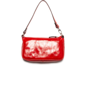 Mima Red Leather