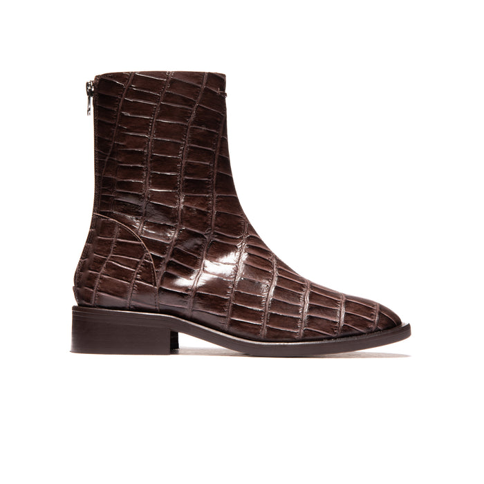 Dalton Brown Big Croco Leather