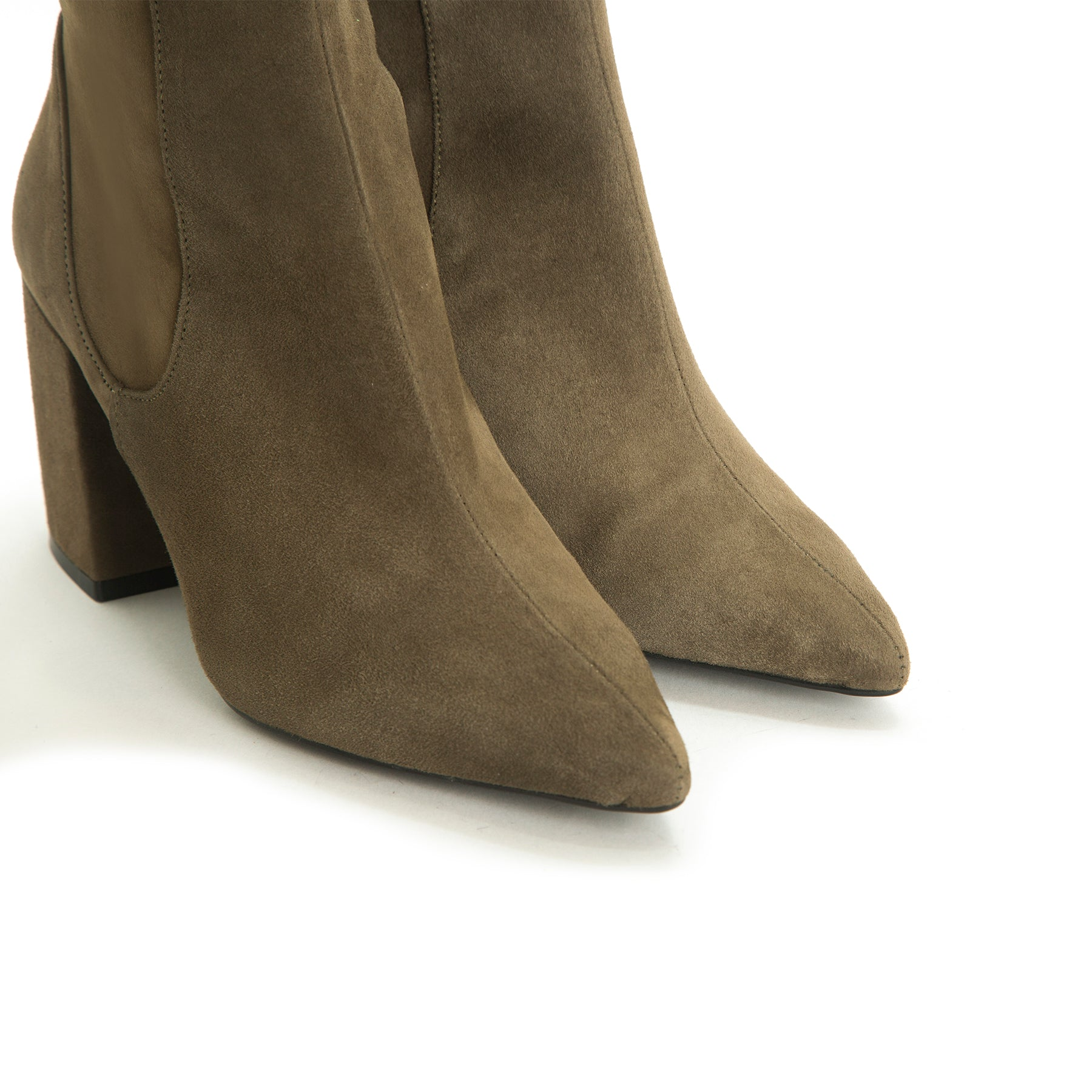 Dametra Khaki Suede - SOLD OUT