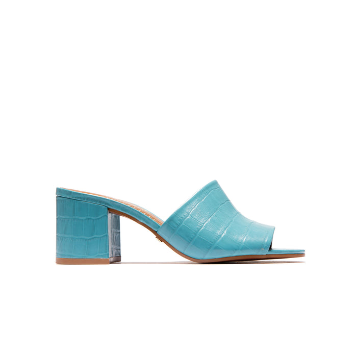 Dina Blue Croco