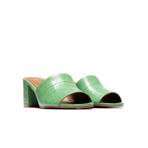 Dina Green Croco