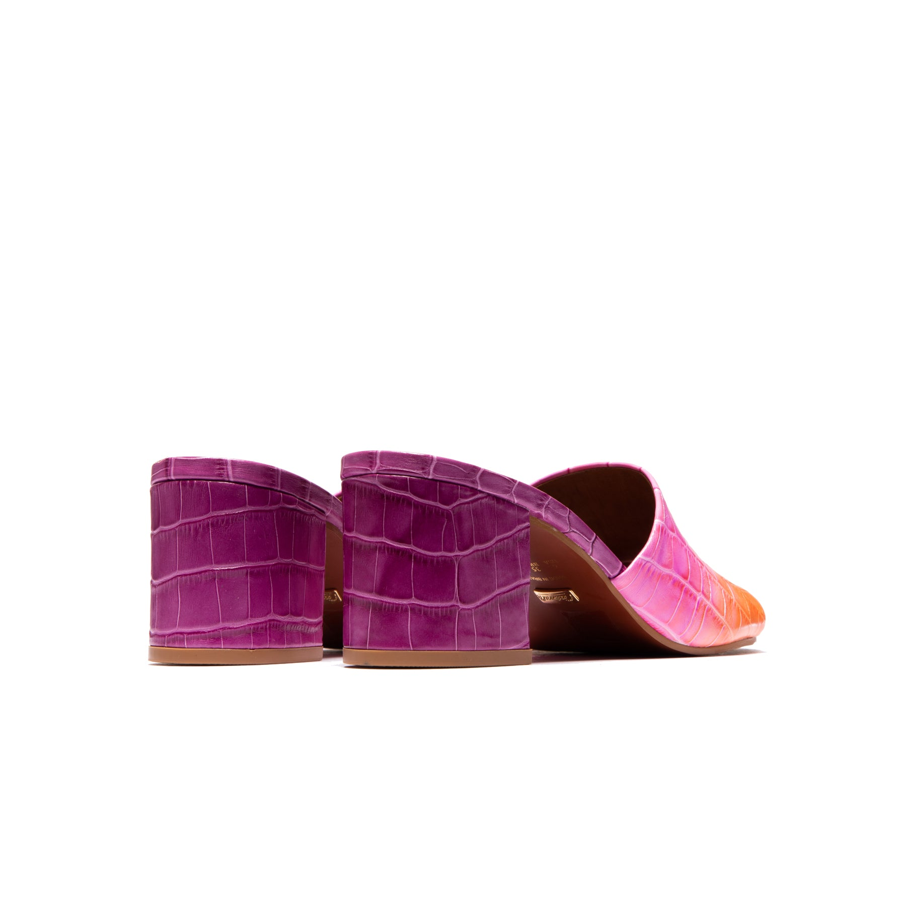Dina Purple Croco