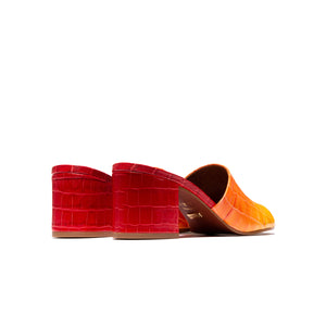 Dina Red Croco