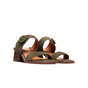 Load image into Gallery viewer, Divit Khaki Suede