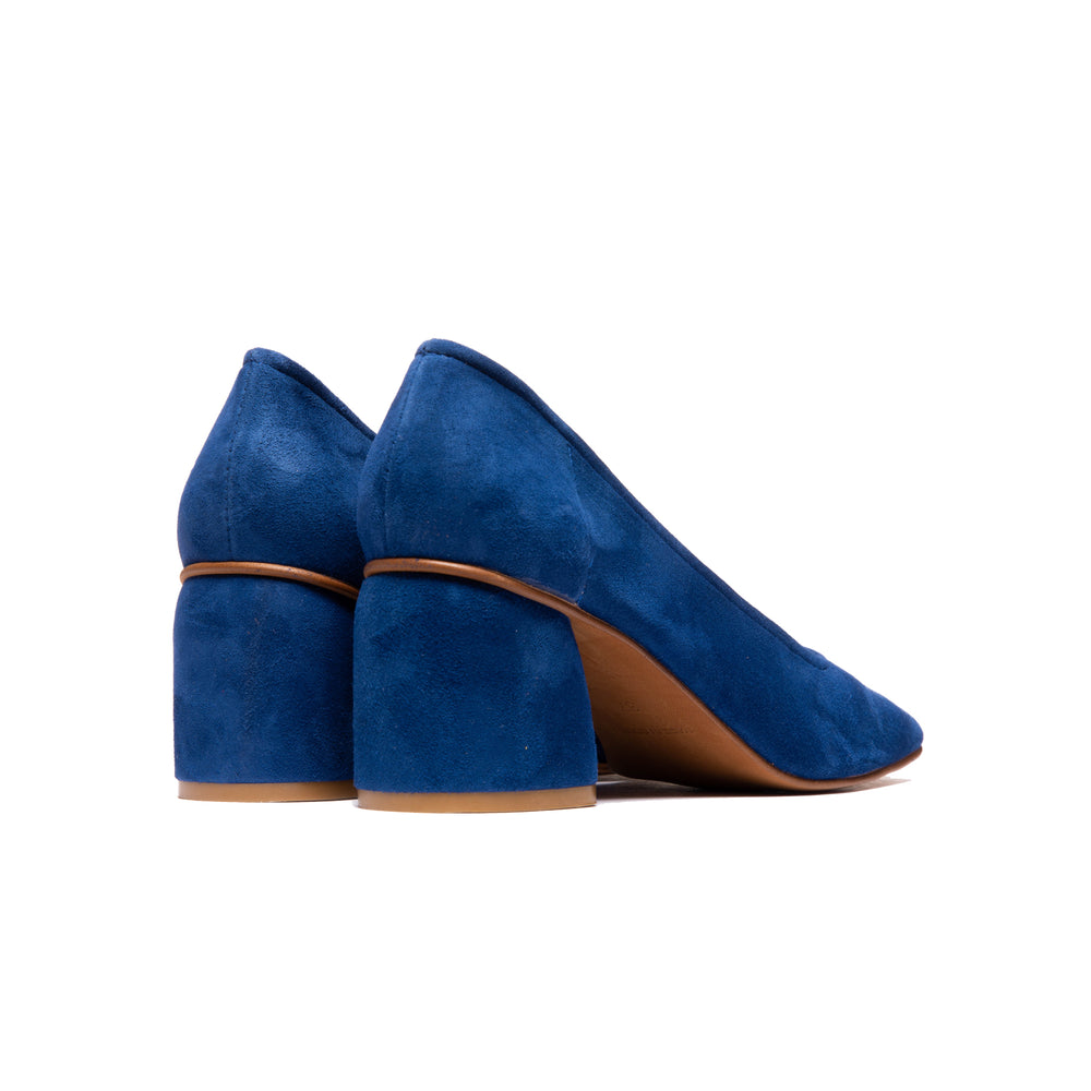 Load image into Gallery viewer, Effy Navy Suede