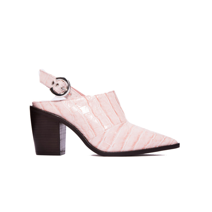 Estevez Pale Pink Croco