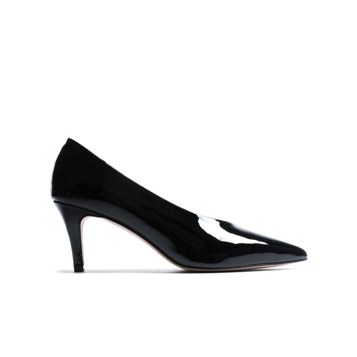 Farra Black Patent Leather