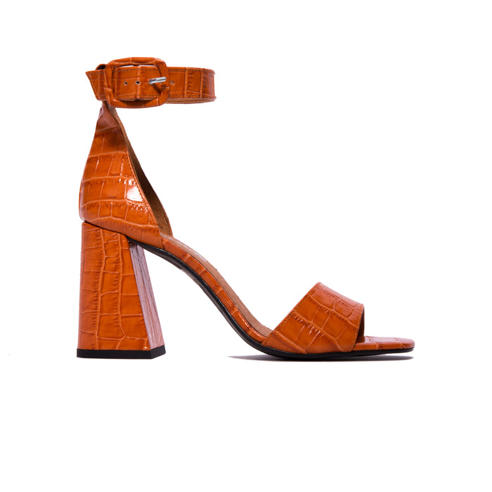 Filipina Dark Orange Croco