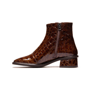 Galway Tan Croco Leather