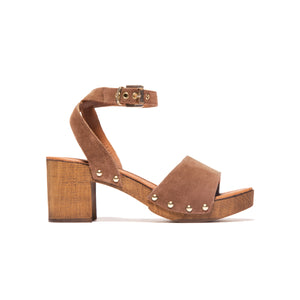 Gianna Brown Suede