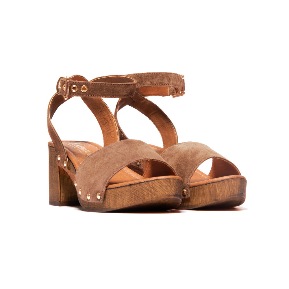 Load image into Gallery viewer, Gianna Brown Suede
