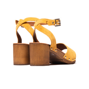 Gianna Yellow Suede