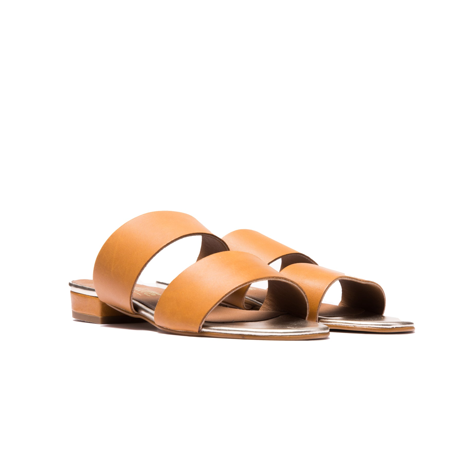 Giselle Tan Leather