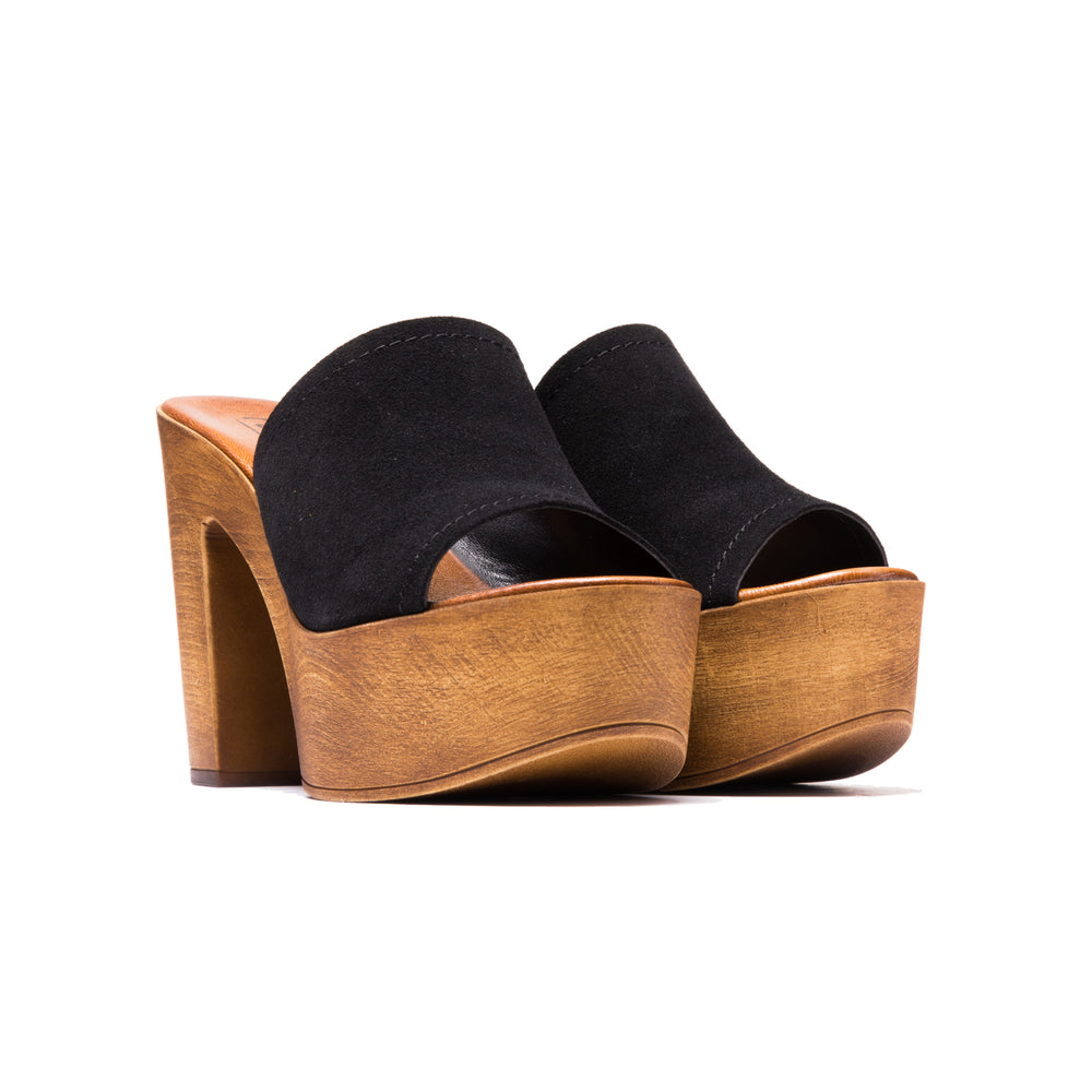 Load image into Gallery viewer, Harini Black Suede