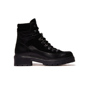 Hike Black Leather/Suede