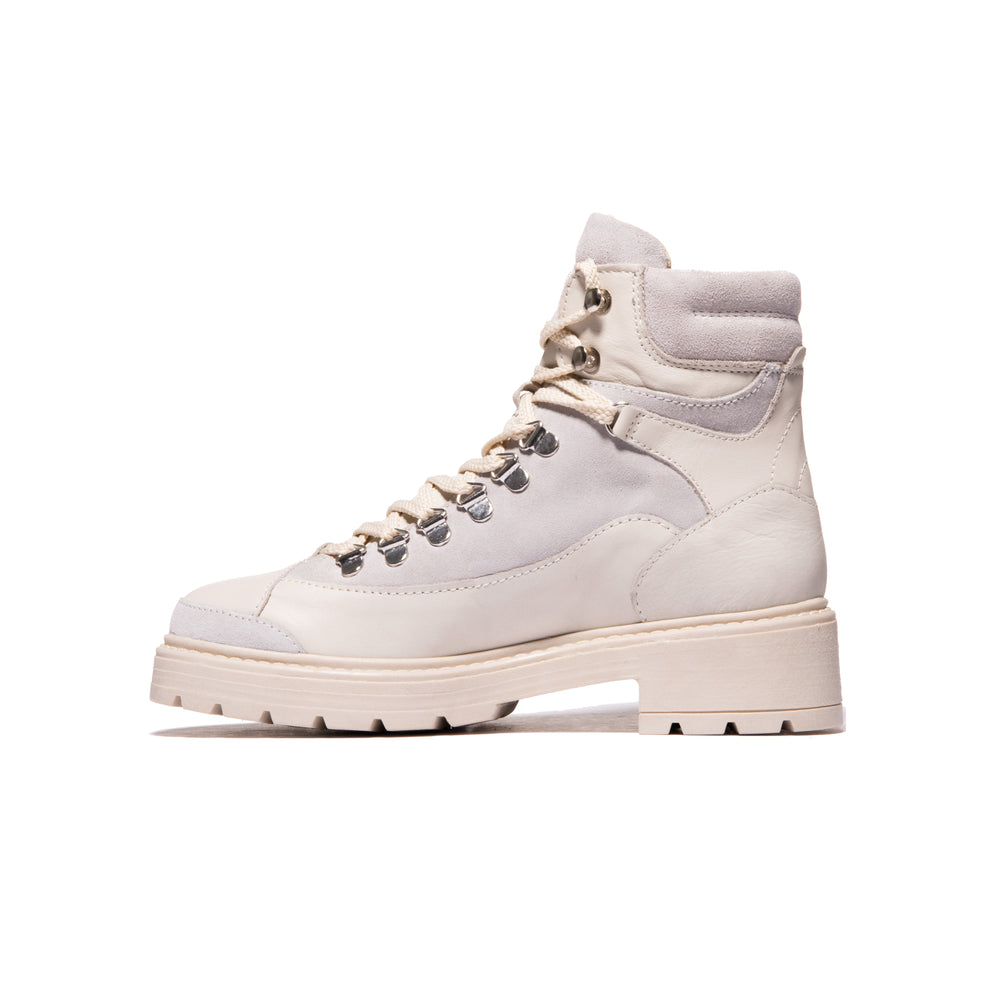 Hike White Leather/Suede