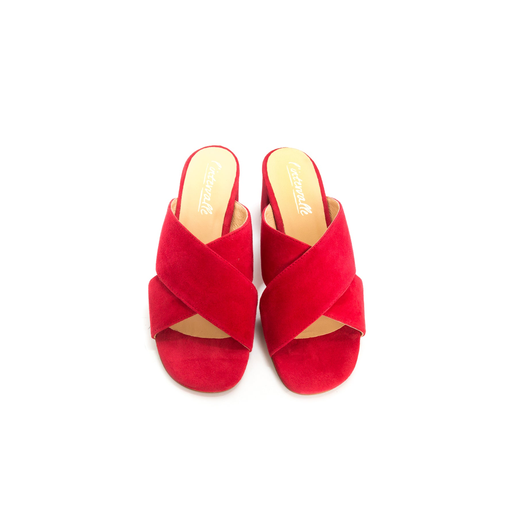 Illy Red Suede