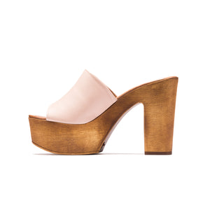 Izabella Nude Leather
