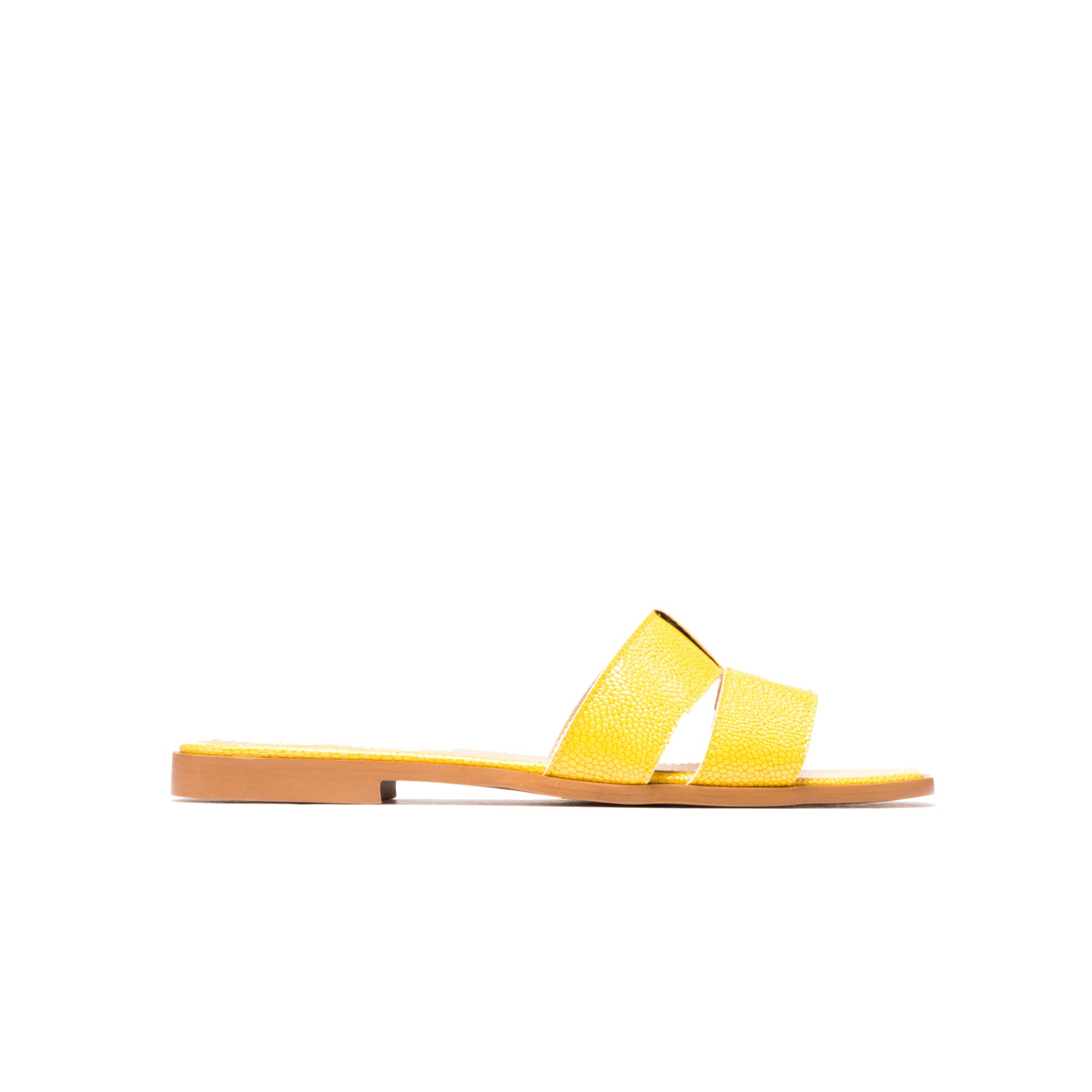 Koji Yellow Leather
