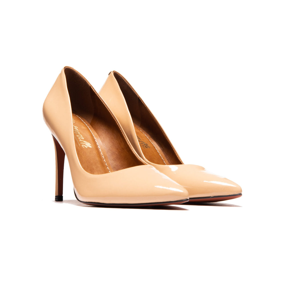 Love Light Beige Patent Leather