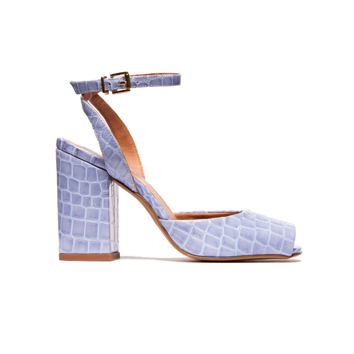 Mira Light Blue Croco