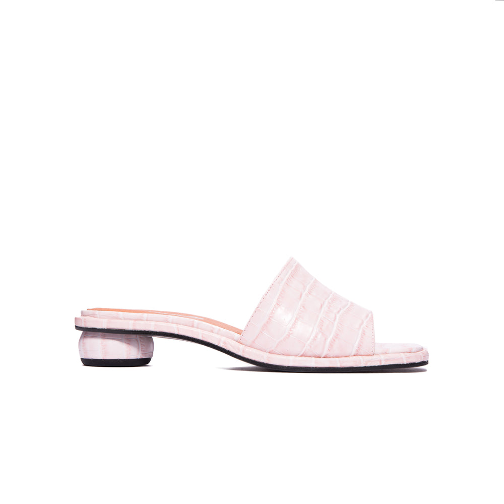 Load image into Gallery viewer, Missy Pale Pink Croco