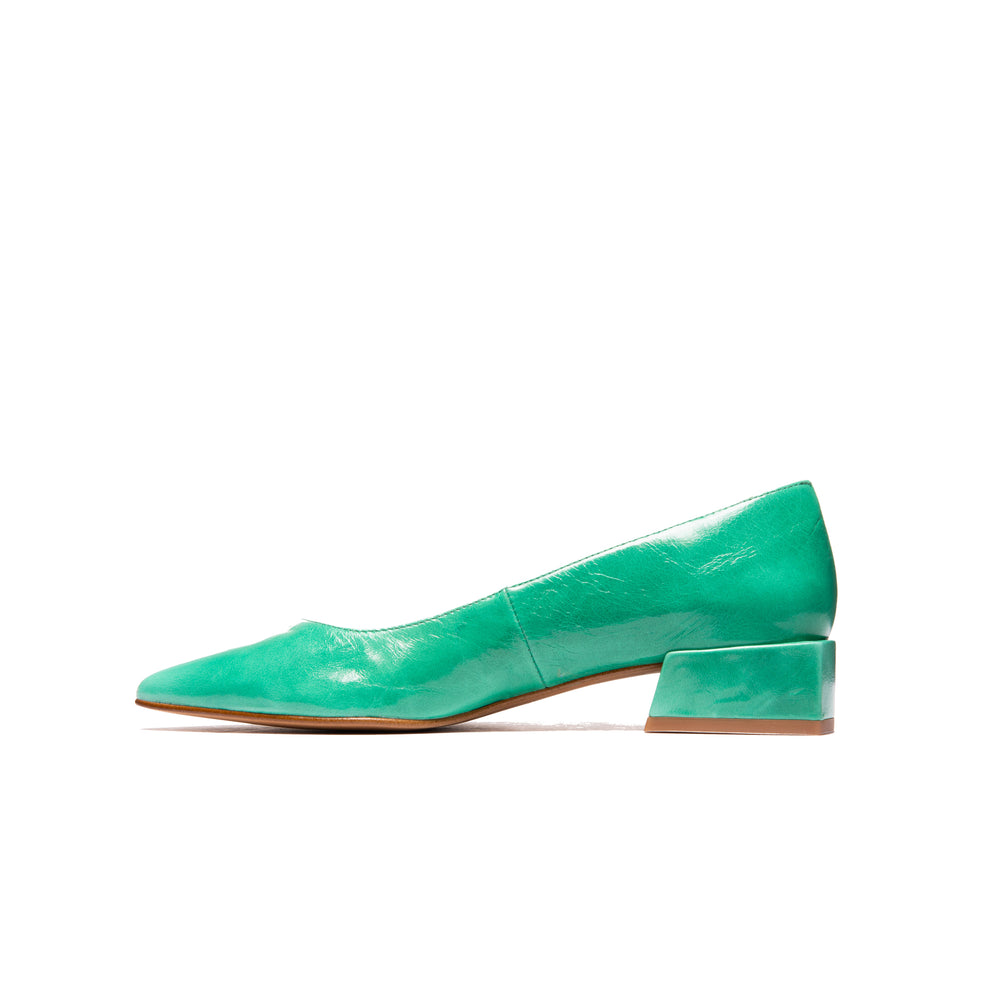 Navia Green Leather