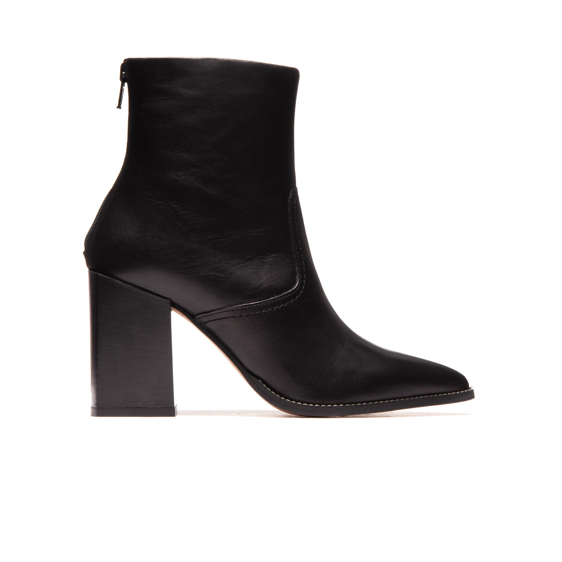 Nicoletta Black Leather