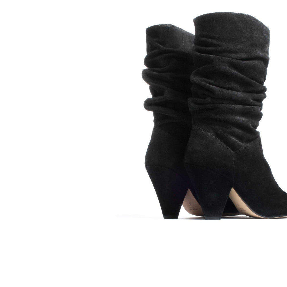 Load image into Gallery viewer, Oturo Black Suede