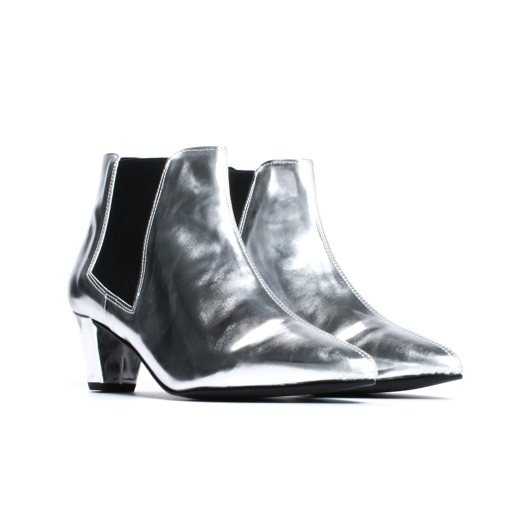 Sloane Silver Leather