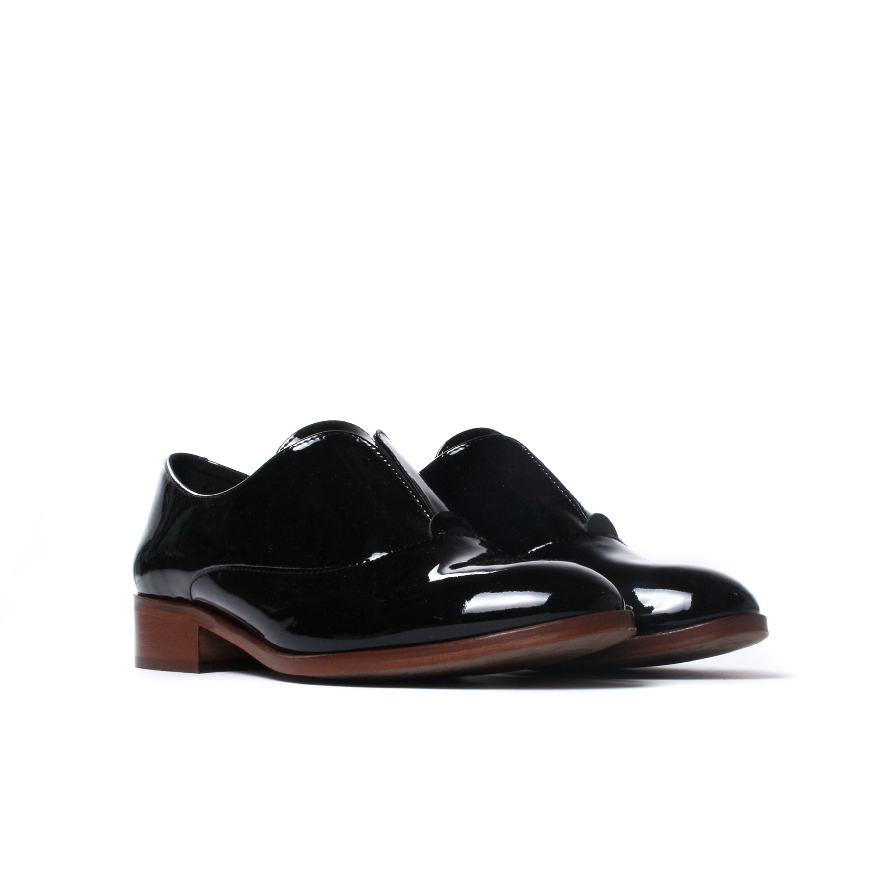 Surrey Black Patent Leather