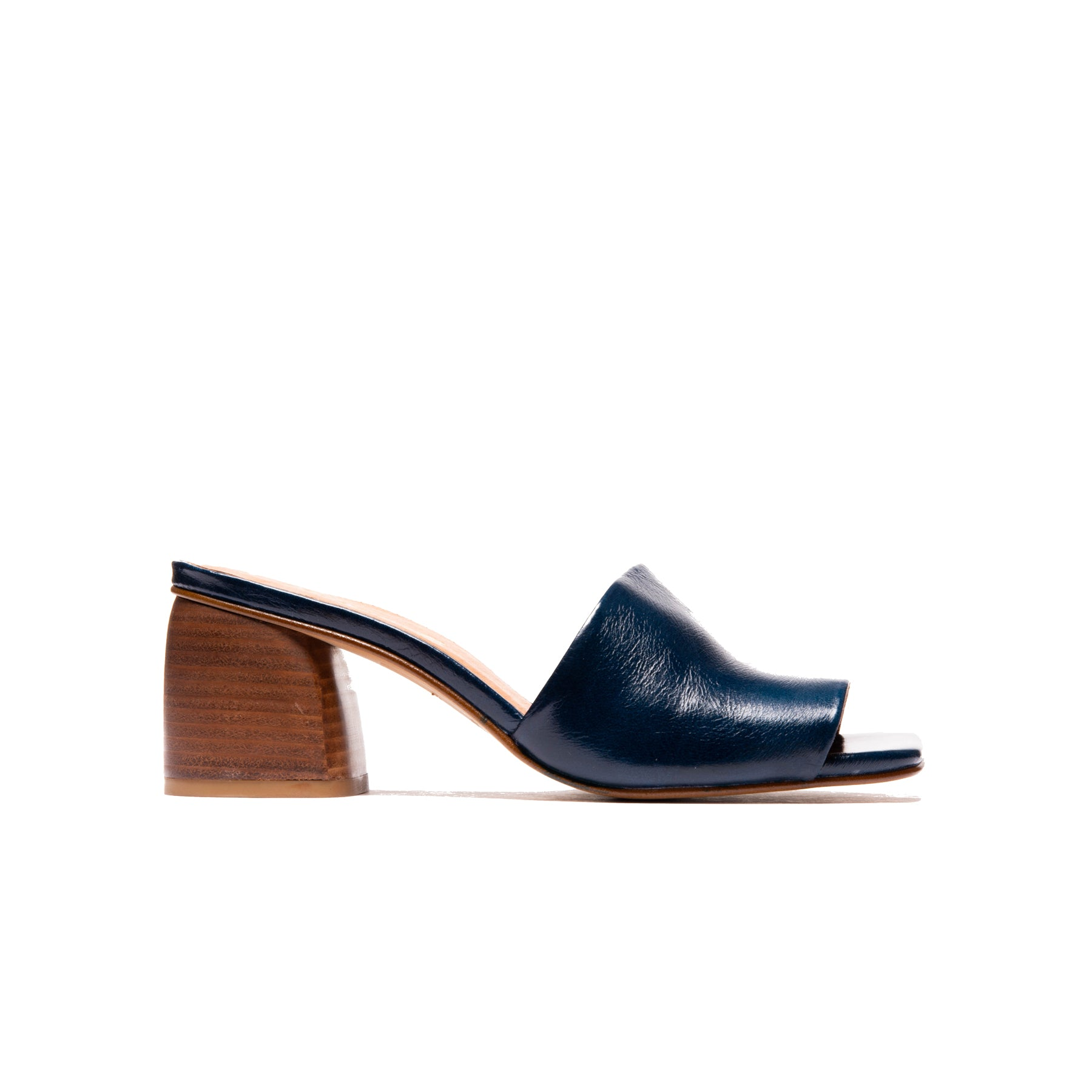 Shanaya Navy Leather