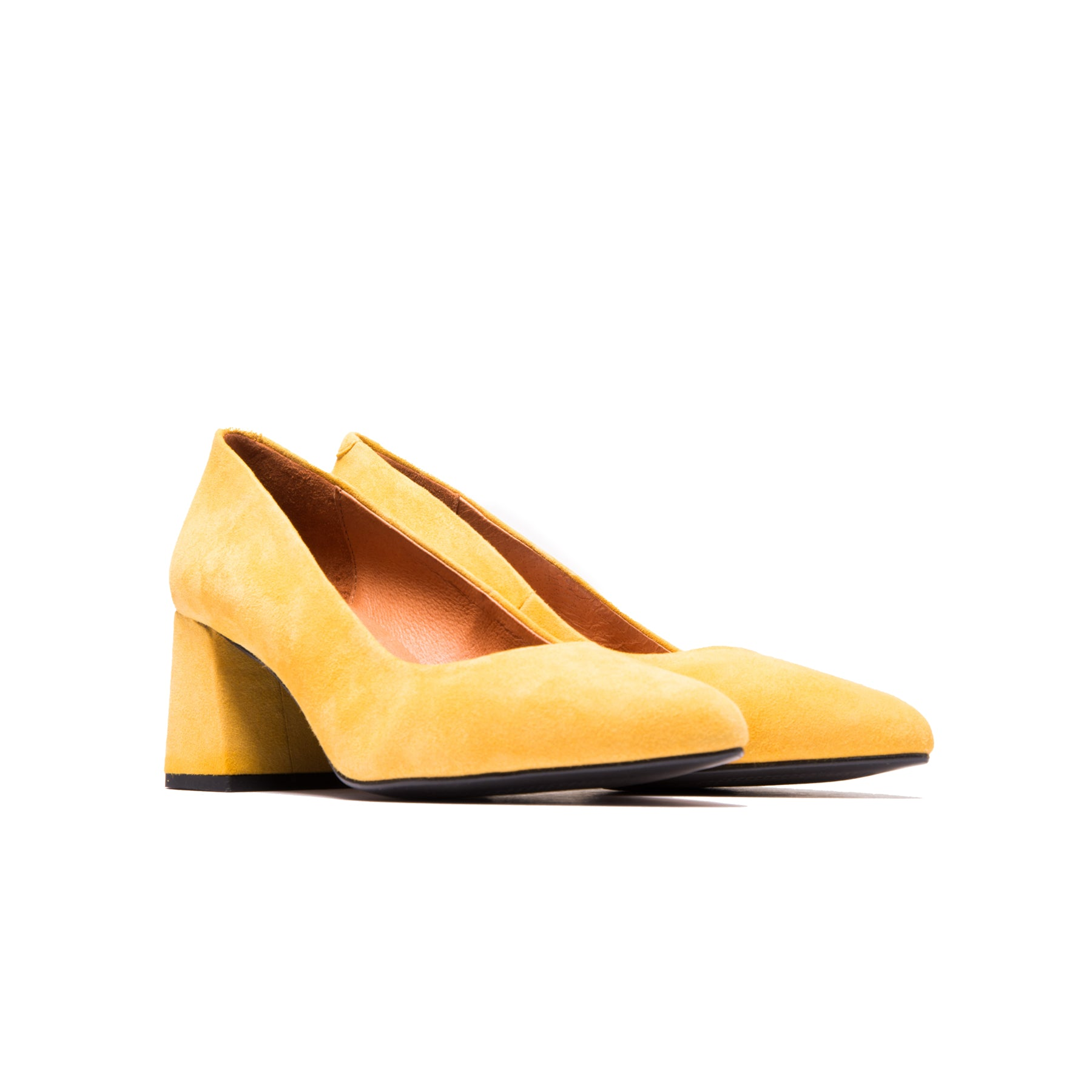 Sharon Yellow Suede