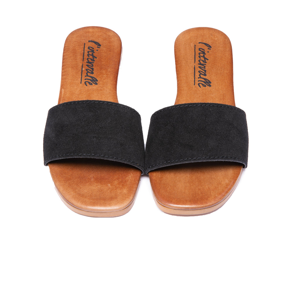 Load image into Gallery viewer, Sunny Black Suede