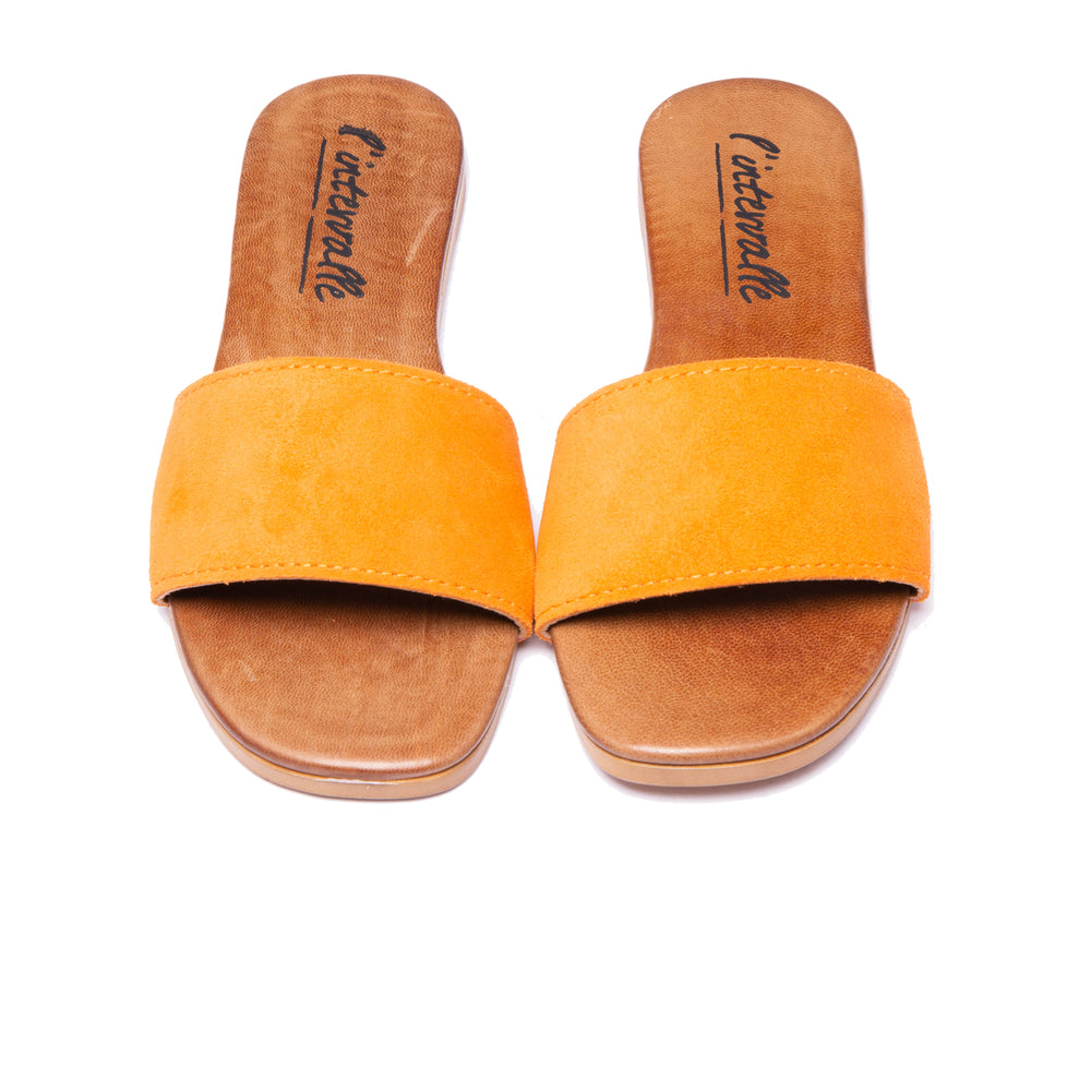 Load image into Gallery viewer, Sunny Orange Suede