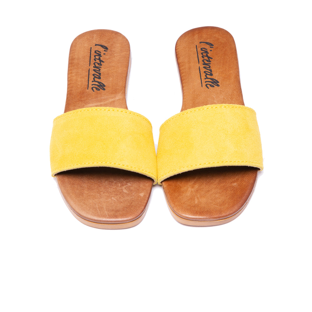 Load image into Gallery viewer, Sunny Yellow Suede