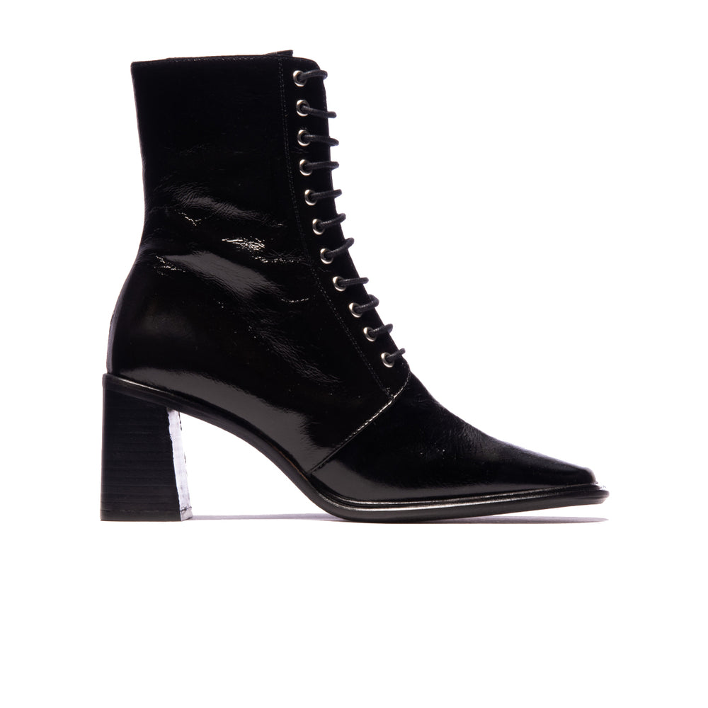 Newbury Black Leather