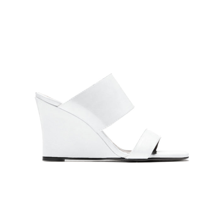 Agadir White Leather