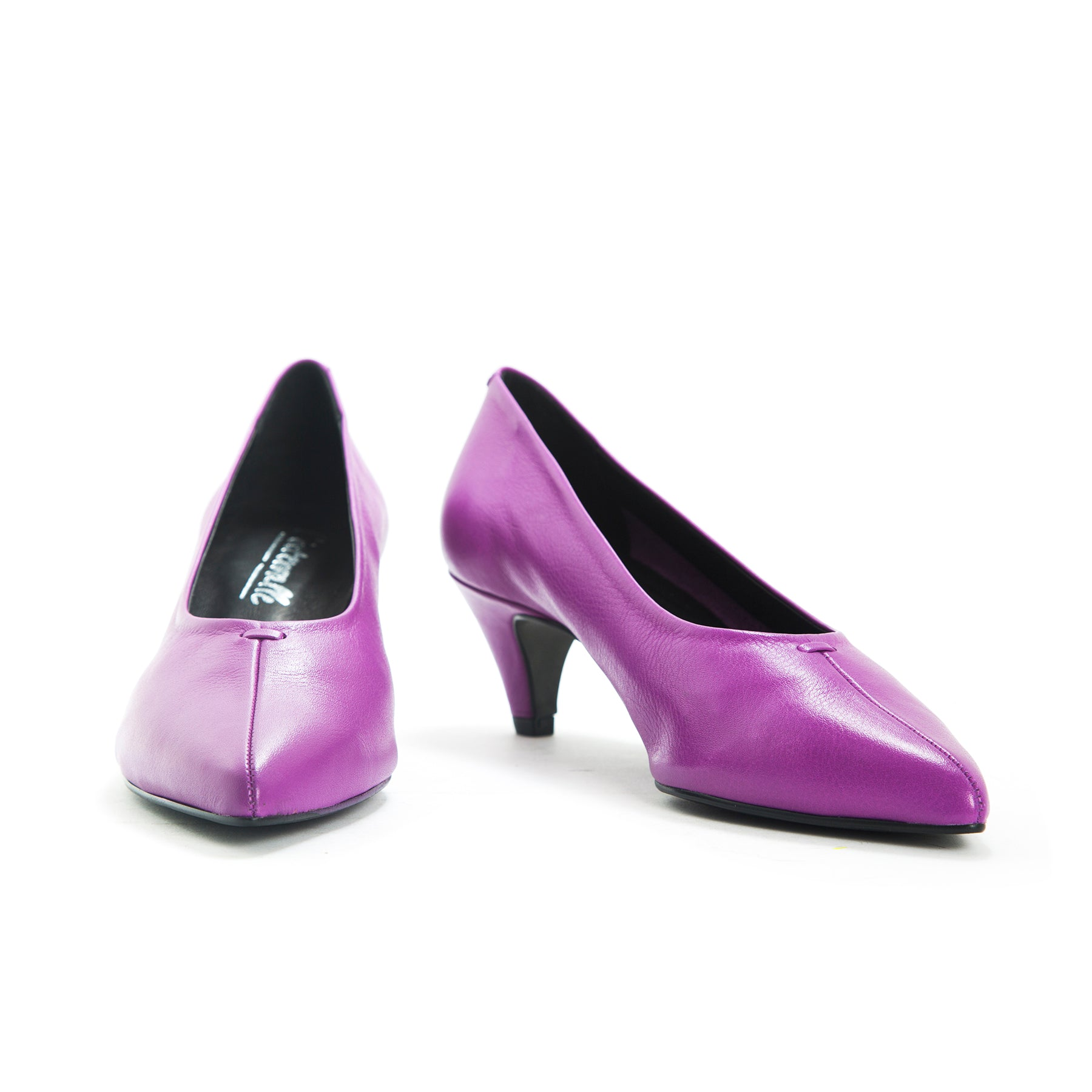 Alba Purple Leather